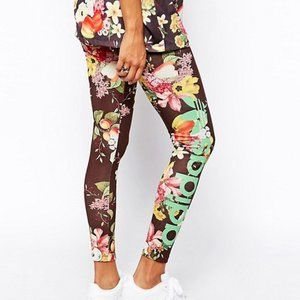 Adidas X Farm Fruit Leggings Small
